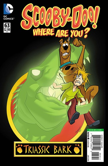 Scooby Doo, Where Are You? Cover - 1/1/2016