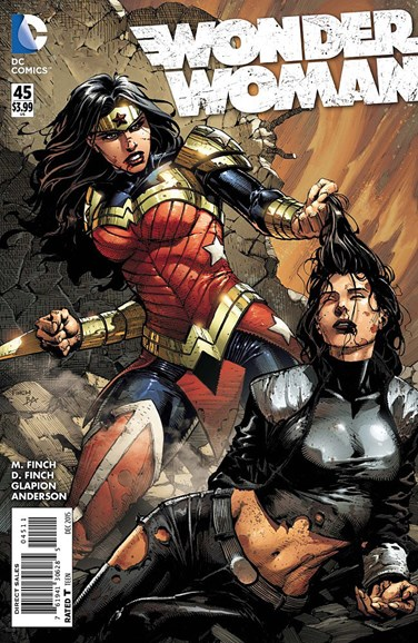 Wonder Woman Cover - 12/1/2015