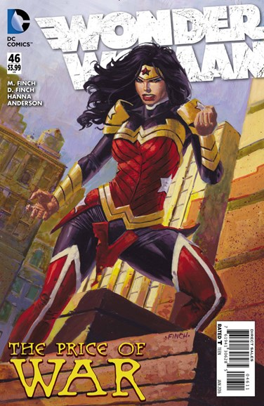 Wonder Woman Cover - 1/1/2016