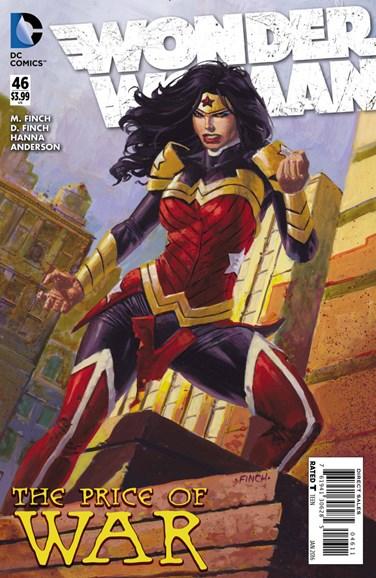 Wonder Woman Cover - 1/1/2016