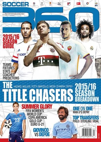 Soccer 360 Cover - 9/1/2015