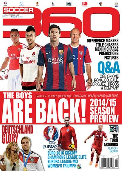 Soccer 360 Cover - 9/1/2014