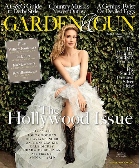 Garden & Gun Cover - 4/1/2014