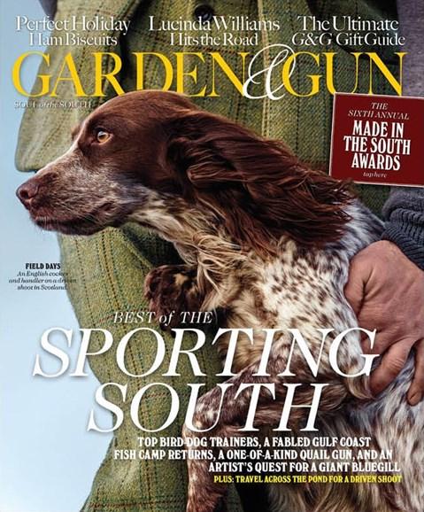 Garden & Gun Cover - 12/1/2015