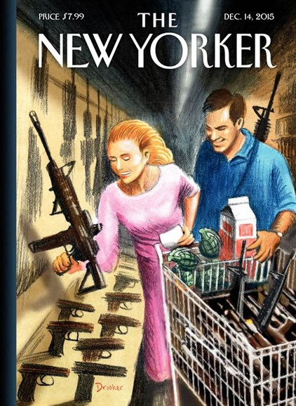 The New Yorker Cover - 12/14/2015