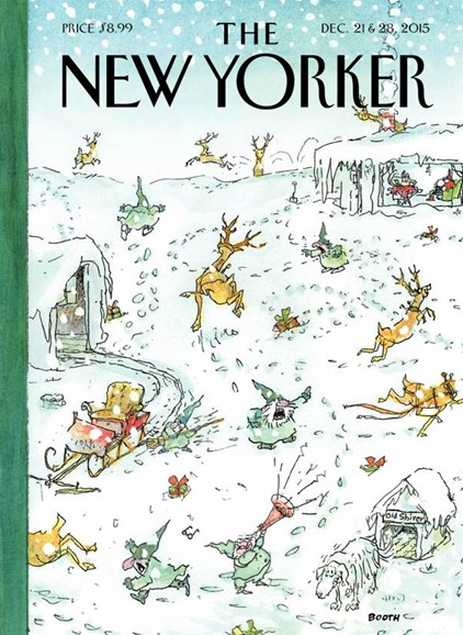 The New Yorker Cover - 12/21/2015