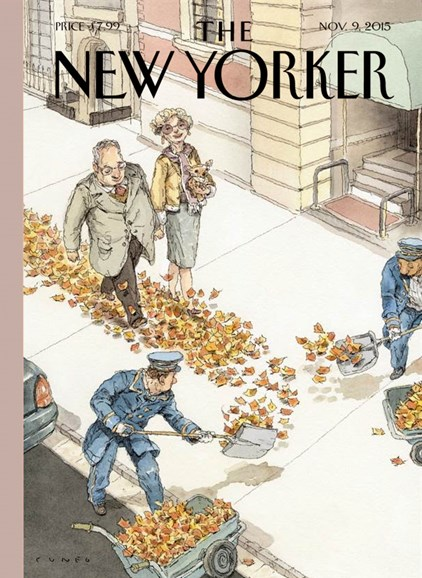 The New Yorker Cover - 11/9/2015