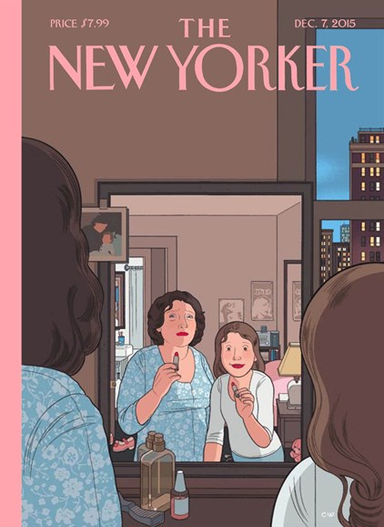 The New Yorker Cover - 12/7/2015