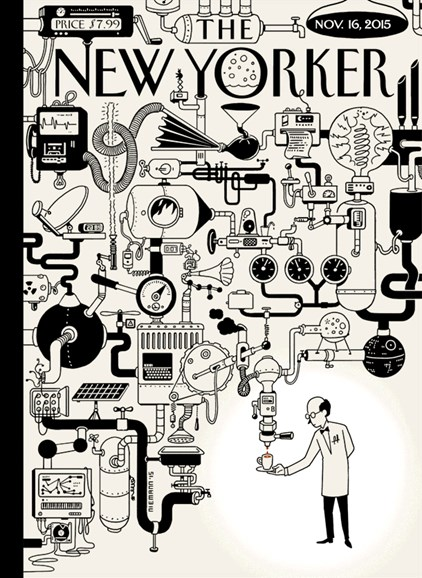 The New Yorker Cover - 11/16/2015