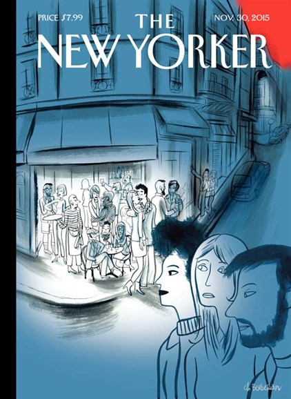 The New Yorker Cover - 11/30/2015