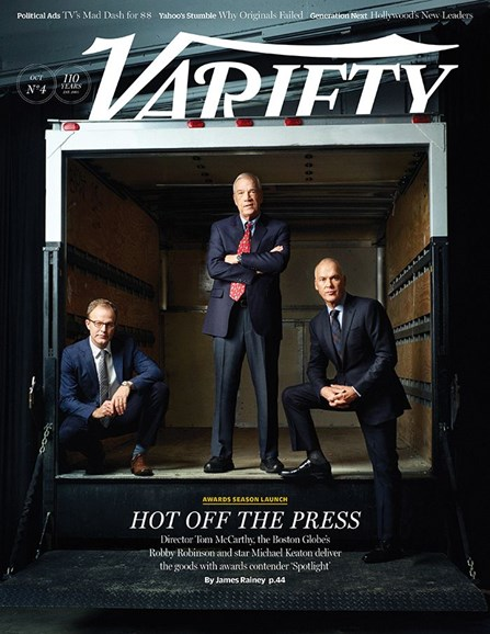 Variety Cover - 10/27/2015