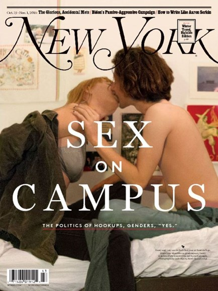 New York Magazine Cover - 10/19/2015