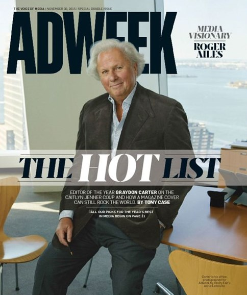 Adweek Cover - 11/30/2015