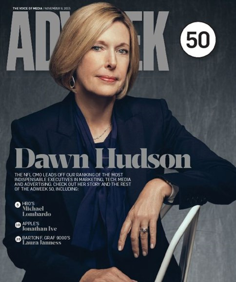 Adweek Cover - 11/9/2015