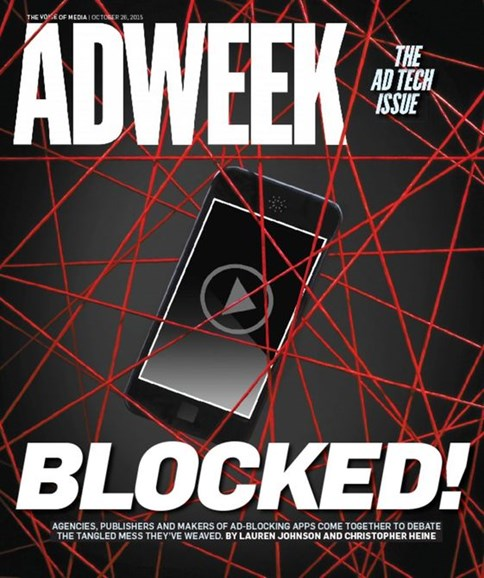 Adweek Cover - 10/26/2015