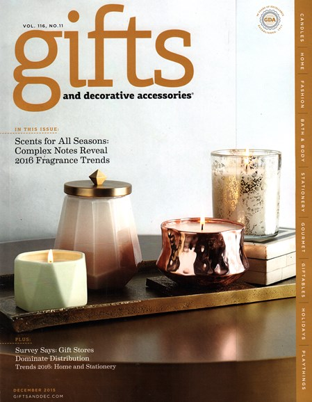 Gifts And Decorative Accessories Cover - 12/1/2015