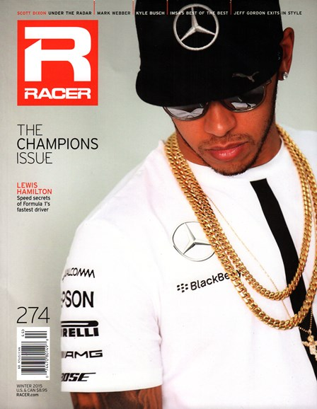 Racer Cover - 12/1/2015