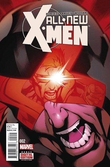 X-Men Blue Cover - 2/1/2016