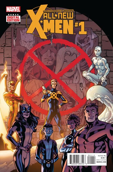 X-Men Blue Cover - 1/1/2016
