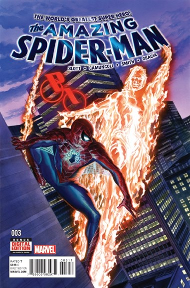 Amazing Spider-Man Cover - 1/1/2016