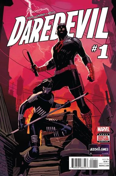 Daredevil Cover - 2/1/2016