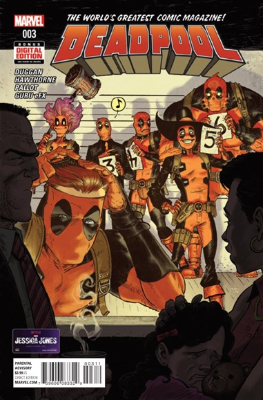 Deadpool Cover - 2/1/2016