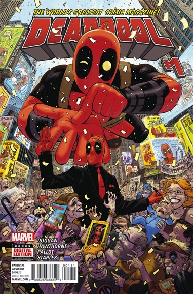 Deadpool Cover - 1/1/2016