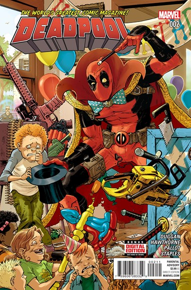 Deadpool Cover - 1/15/2016
