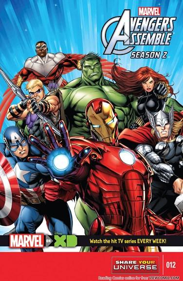 Marvel Universe Avengers Assemble Cover - 12/1/2015