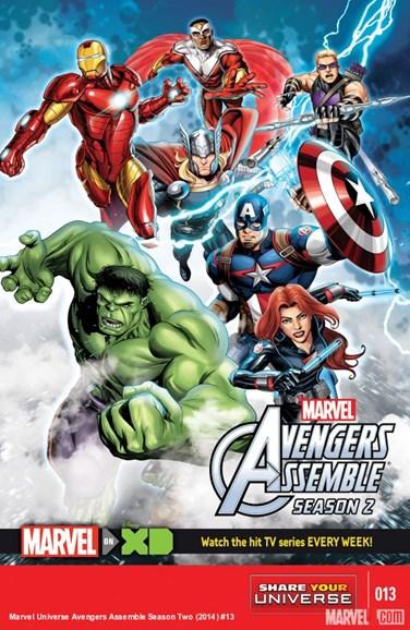Marvel Universe Avengers Assemble Cover - 1/1/2016