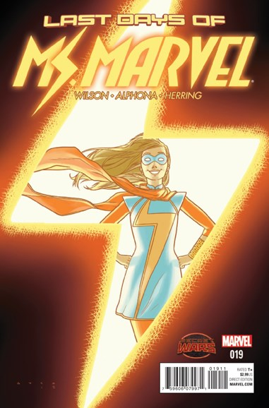 Magnificent Ms. Marvel Cover - 12/1/2015