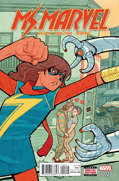 Magnificent Ms. Marvel Cover - 2/1/2016