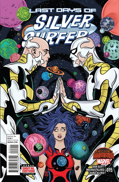 Silver Surfer Cover - 1/1/2016
