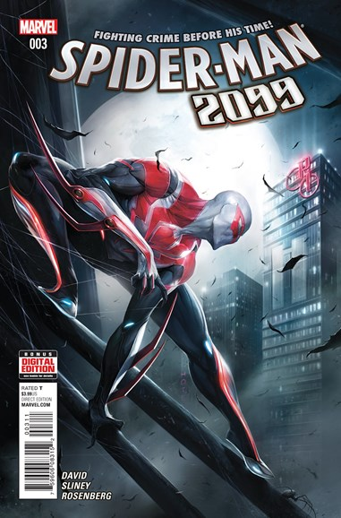 Spider-Man 2099 Cover - 1/1/2016