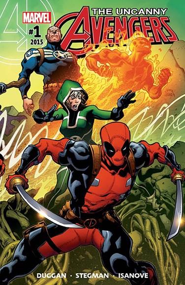 Uncanny Avengers Cover - 12/1/2015