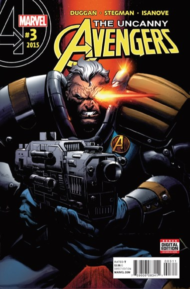 Uncanny Avengers Cover - 2/1/2016