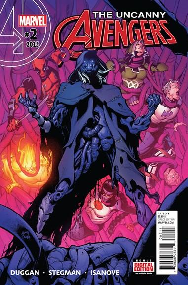 Uncanny Avengers Cover - 1/1/2016
