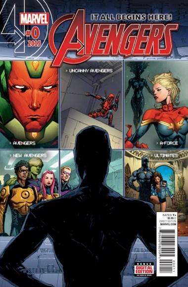 Avengers Cover - 12/1/2015
