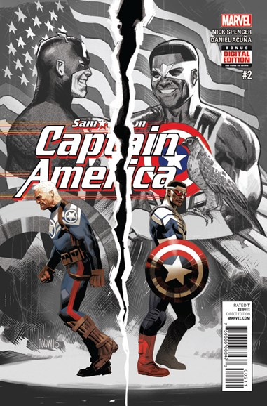 Captain America Cover - 12/15/2015