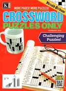 Herald Tribune Crossword Puzzles Magazine 2/1/2016