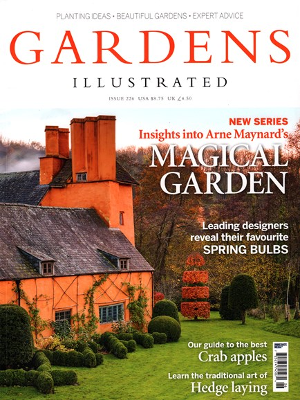 Gardens Illustrated Cover - 10/1/2015