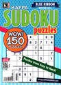 Blue Ribbon Kappa Sudoku Puzzles Magazine | 1/2016 Cover