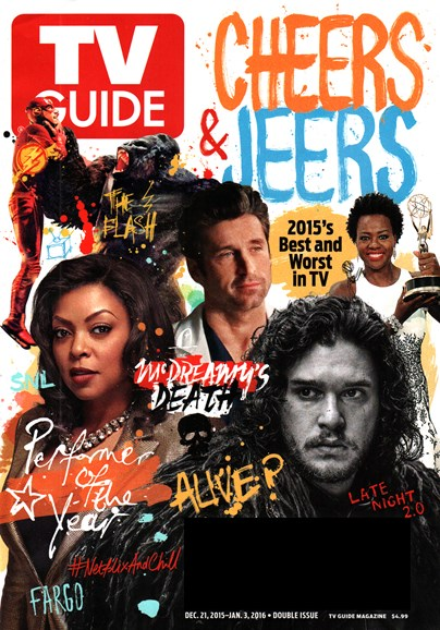 TV Guide Cover - 12/21/2015
