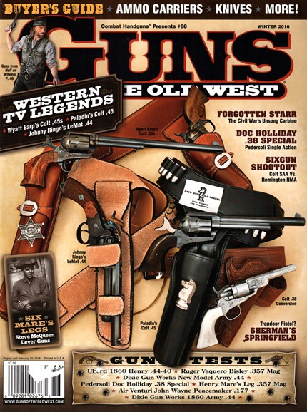 Guns Of The Old West Cover - 1/1/2016