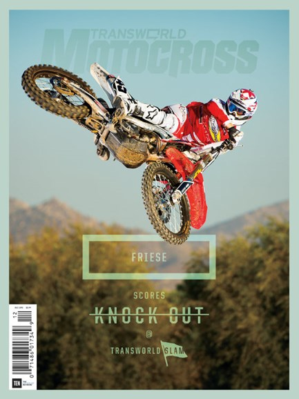 Transworld Motocross Cover - 12/1/2015