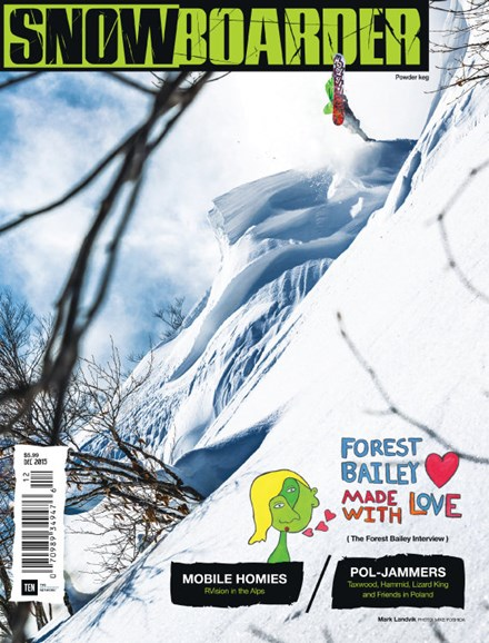 Snowboarder Cover - 12/1/2015
