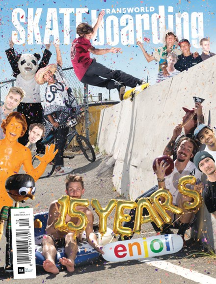 Transworld SKATEboarding Cover - 12/1/2015