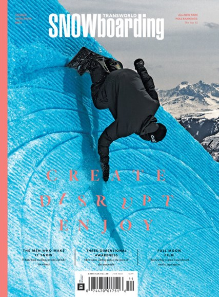 Transworld SNOWboarding Cover - 11/1/2015