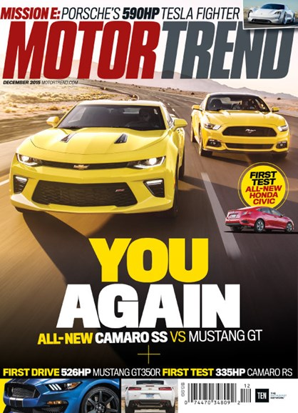 Motor Trend Cover - 12/1/2015