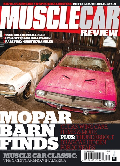 Muscle Car Review Cover - 12/1/2015